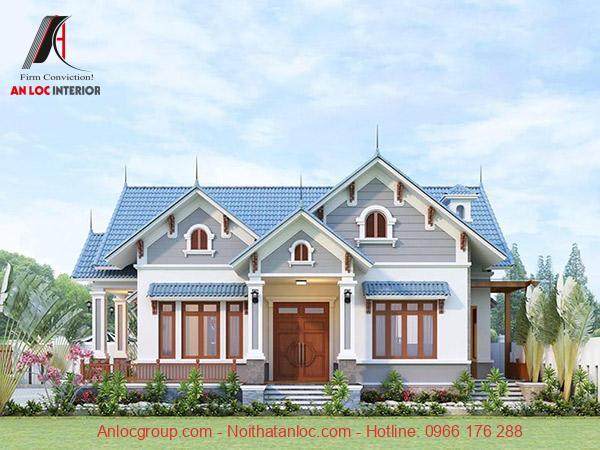 Thiết kế nhà cấp 4 mái thái 7x15 được nhiều gia chủ lựa chọn