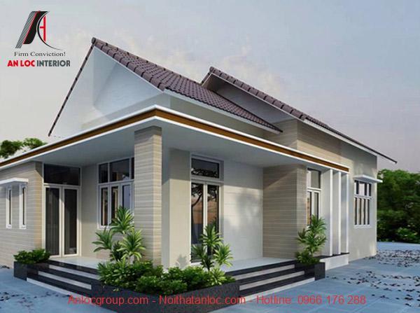 Sắp đặt màu sắc và đường nét tạo nên căn nhà vững chắc