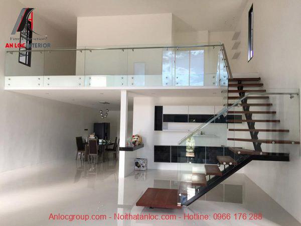 Nội thất tầng lửng cần hài hòa với tổng thể kiến trúc căn nhà