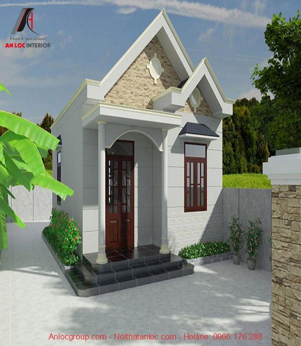 VỚi căn nhà cấp 4 diện tích 50m2 thì phân chia bố cục hợp lý để có không gian sống tốt nhất