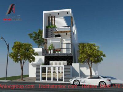 Mẫu thiết kế nhà 2 tầng 6x15m