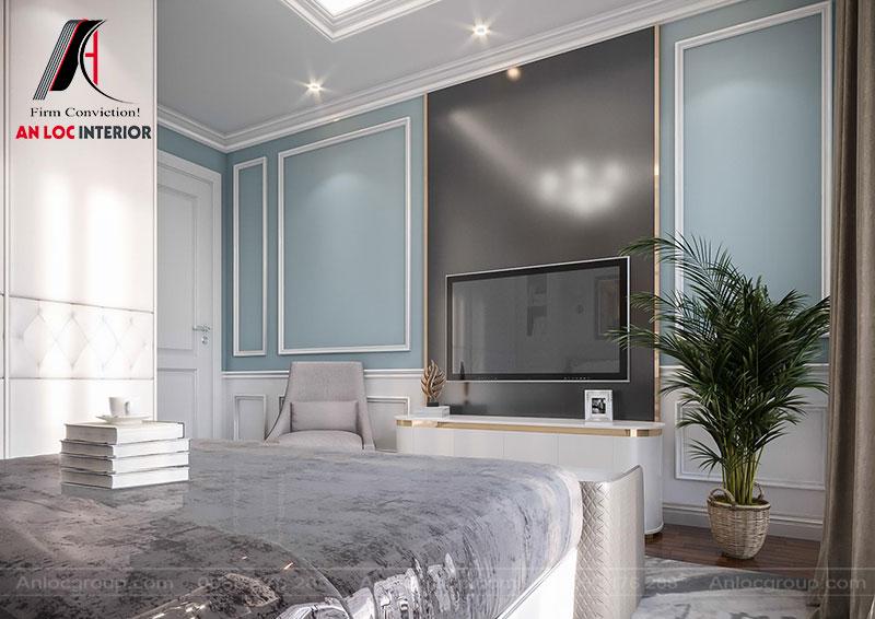 Màu pastel nhẹ nhàng giúp căn phòng trở nên hài hòa, cuốn hút