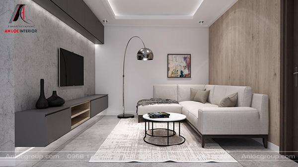 Mẫu 41 - Phòng khách Minimalism đơn giản nhưng tinh tế
