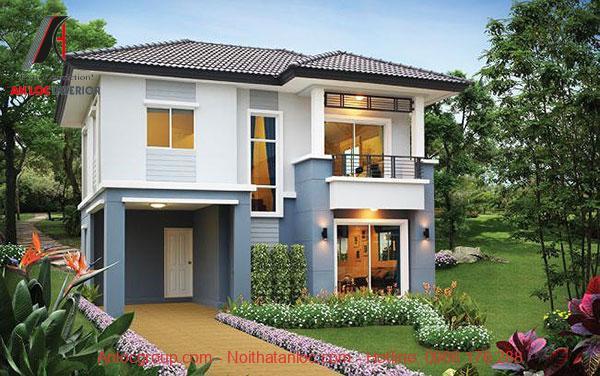 Màu sắc và kiến trúc đồng nhất tạo nên vẻ đẹp nổi bật