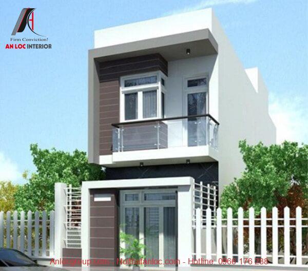 Trang trí nhà 2 tầng đơn giản nhưng cần hài hòa với kiến trúc