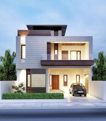 Thiết kế nhà 2 tầng 60m2