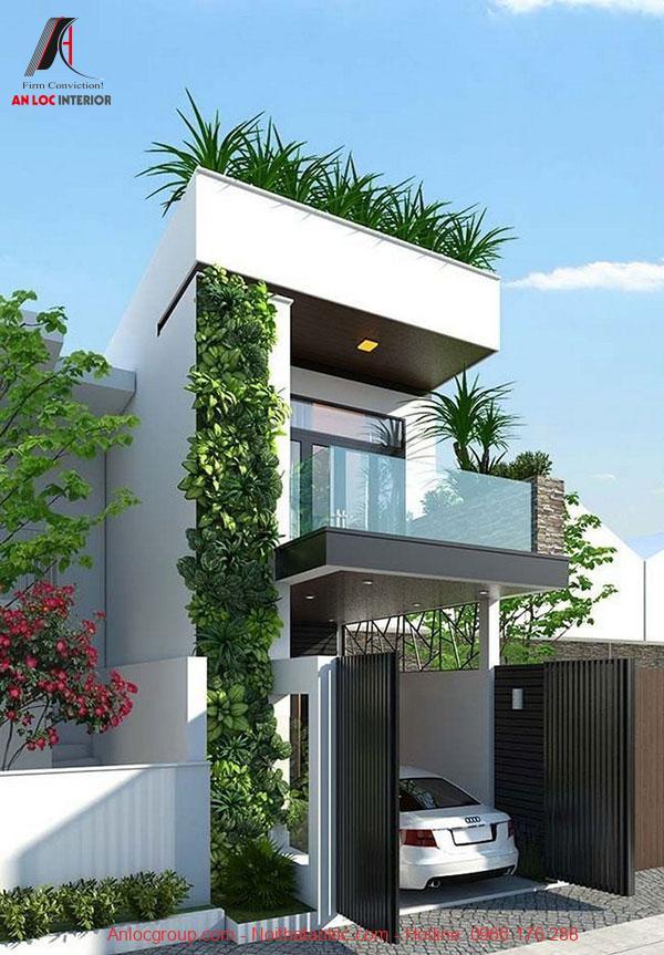 Thiết kế nhà gần gũi với thiên nhiên