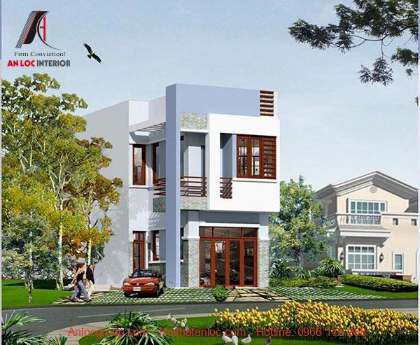 Thiết kế nhà 2 tầng chi phí phù hợp