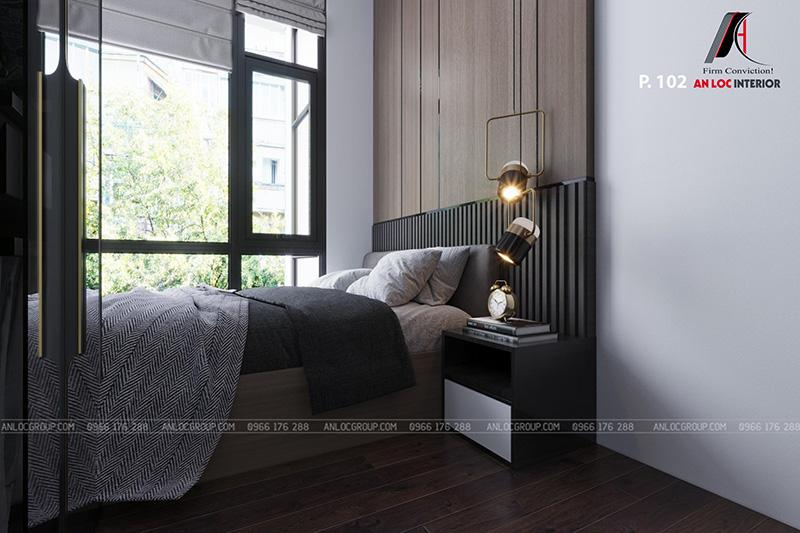 thiết kế nội thất khách sạn phòng 102