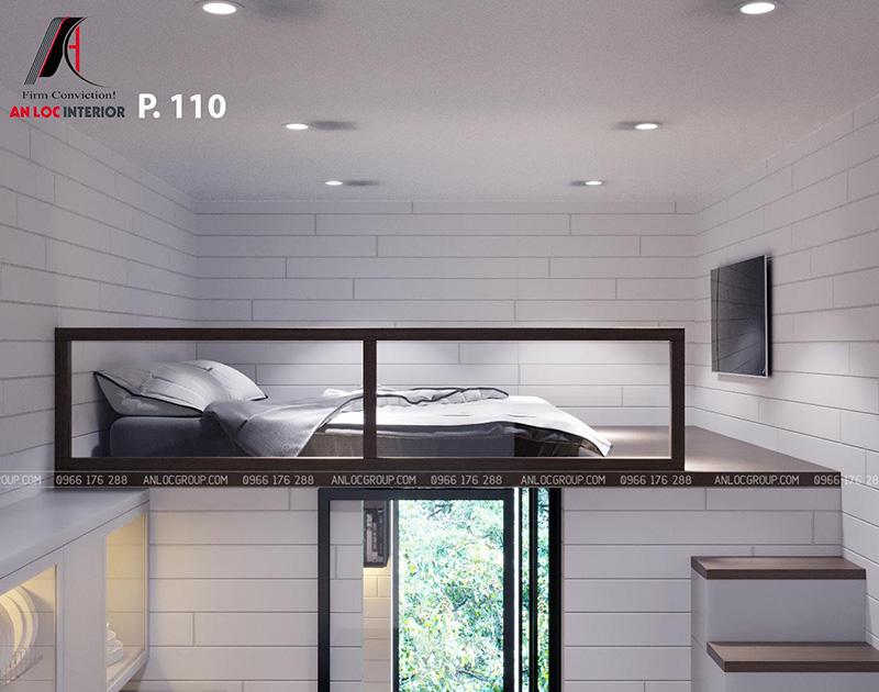 Thiết kế nội thất khách sạn phòng 110