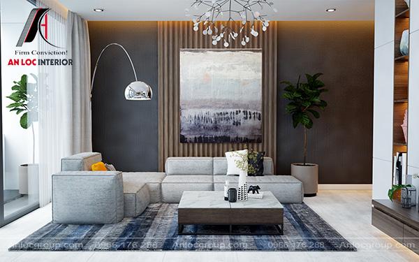 Mẫu 7 - Phòng khách hiện đại đẹp