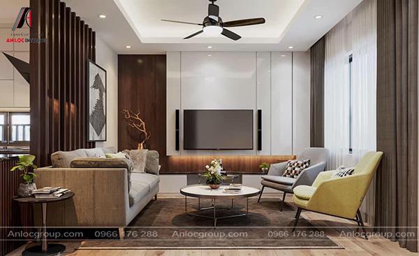 Mẫu 46 - Nội thất phòng khách hiện đại