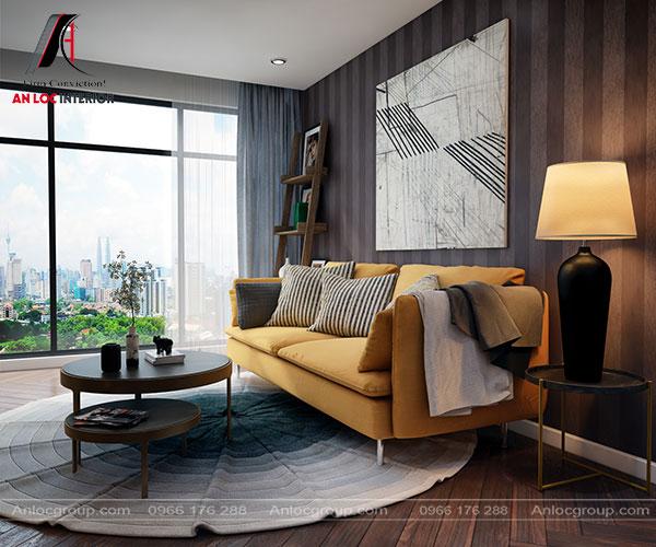Mẫu 47 - Phòng khách hiện đại