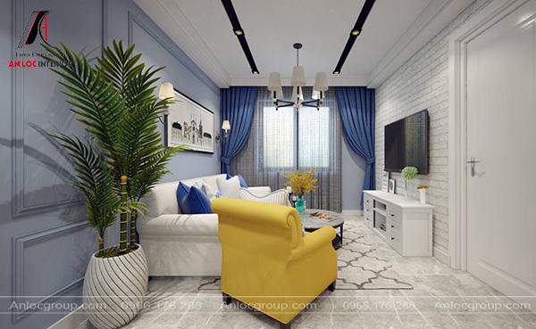 Mẫu 53 - Nội thất phòng khách tân cổ điển