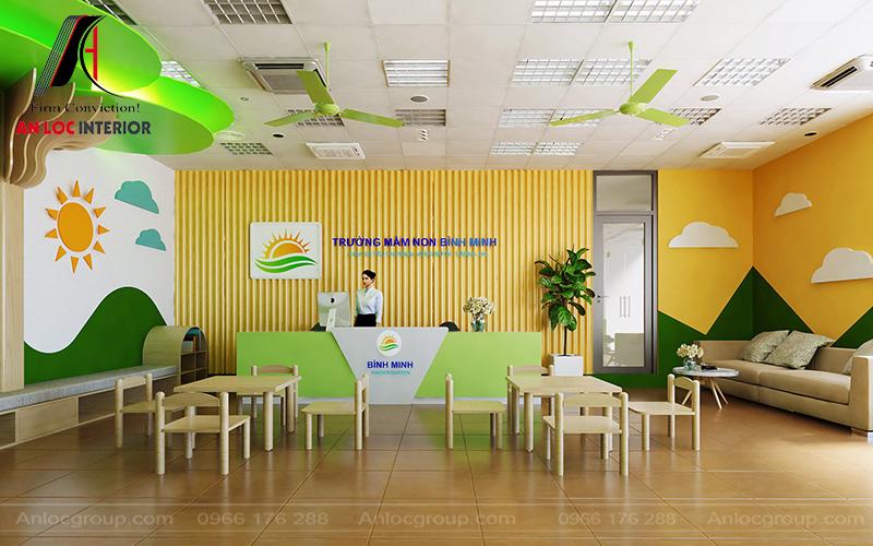 Thiết kế trường mầm non tại Hưng Yên