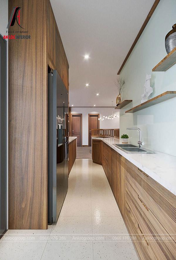 ,Mẫu tủ bếp căn hộ đẹp được yêu thích nhất hiện nay