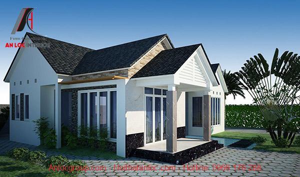 Màu sắc mái thái đa dạng giúp gia chủ trang hoàng căn nhà cấp 4 100m2 hợp 100m2 hưpj phong thủy
