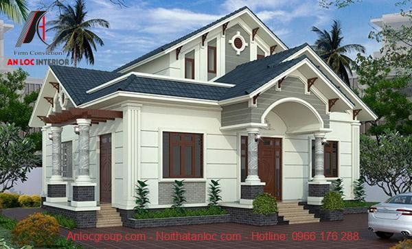 Xây nhà cấp 4 100m2 phụ thuộc vào chi tiết trang trí trong căn nhà