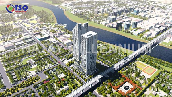 Toàn cảnh dự án chung cư Hà Tây Millennium do TSQ làm chủ đầu tư