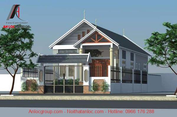 Mặt tiền nhà đẹp 5m 1 tầng ưu tiên lối kiến trúc hiện đại, cuốn hút đến từng chi tiết