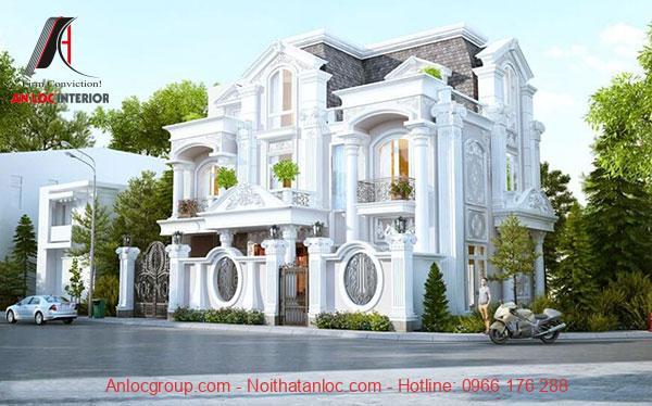Mẫu biệt thự cổ điển Pháp, Châu Âu đề cao tính đối xứng trong kiến trúc