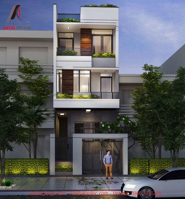 Kiến trúc gồm những ô cửa rộng rãi tạo nên sự thoáng đãng, dễ chịu
