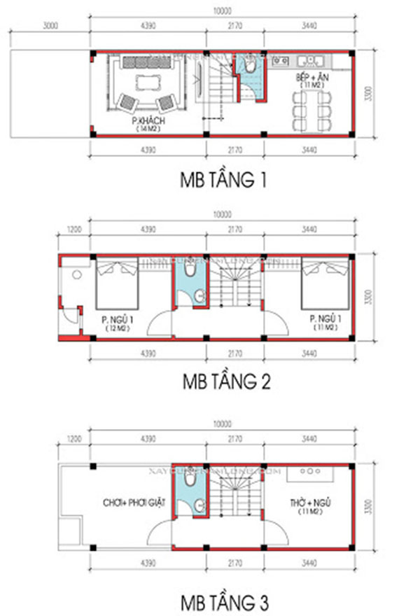 Thiết kế nhà 5x10 cần bố trí mặt tiền hài hòa hợp lý với nhu cầu sử dụng