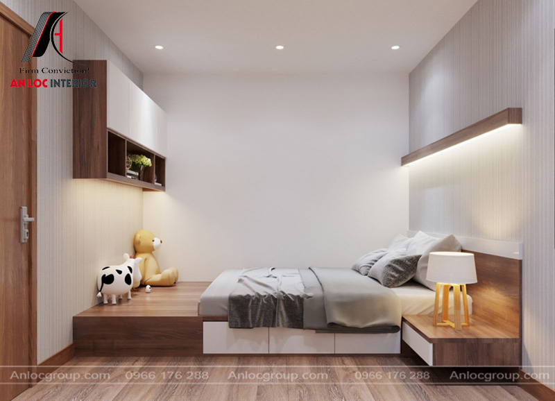 Đồ nội thất đồng nhất với các phòng chức năng khác của căn nhà