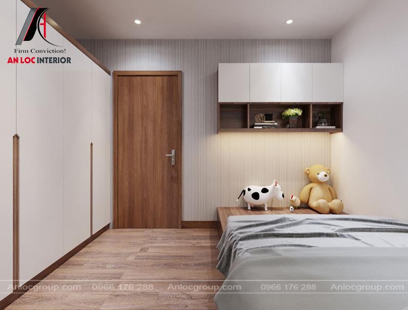 Sự đơn giản là tiêu chí tạo nên vẻ đẹp của căn phòng