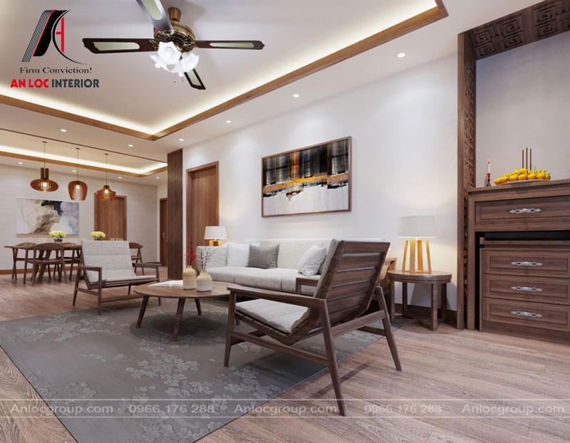 Các món đồ trang trí tôn vinh vẻ đẹp đơn giản mà hiện đại của không gian phòng khách