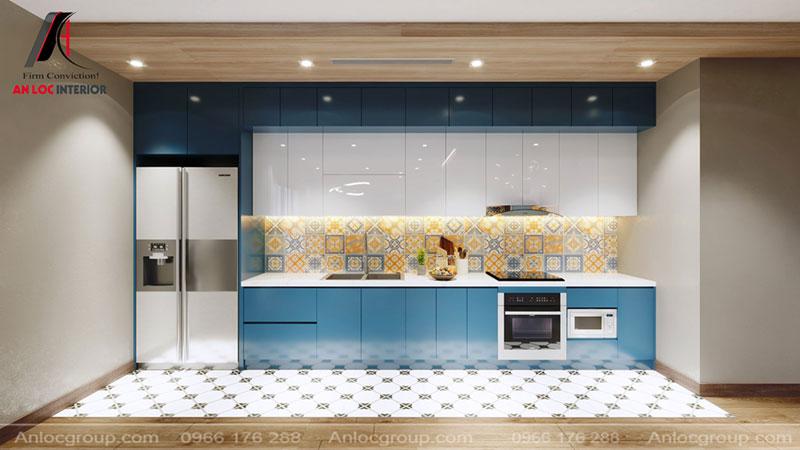 Thiết kế phòng bếp chung cư Thiên Niên Kỷ hợp phong thủy