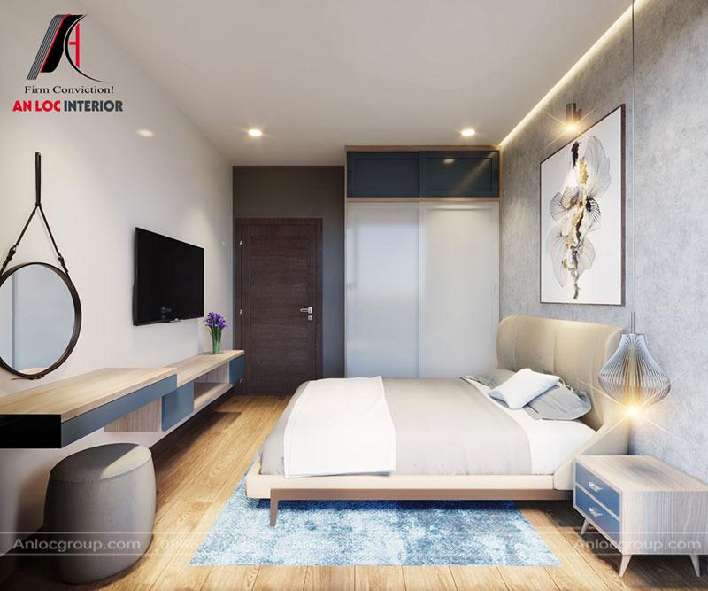 Thiết kế phòng ngủ nhỏ 10m2 tại chung cư Thiên Niên Kỷ
