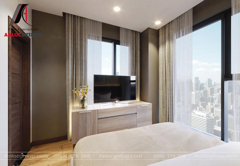 Thiết kế phòng ngủ chung cư Thiên Niên Kỷ