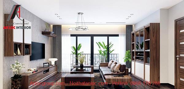 Không gian sống sang trọng nhờ sử dụng đồ nội thất bằng gỗ
