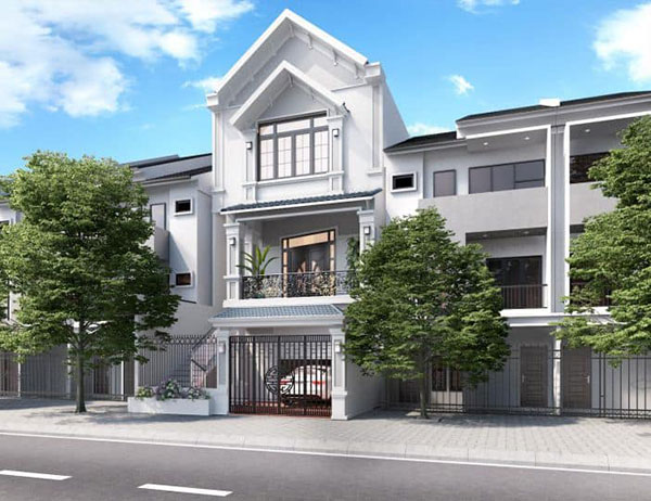 Thiết kế nhà phố 3 tầng có gara đòi hỏi cách bố trí công năng hài hòa hợp lý