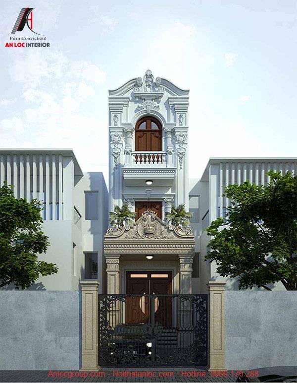 Lối kiến trúc cổ điển và kết hợp màu sắc đan xen tạo sự hứng khởi cho người nhìn
