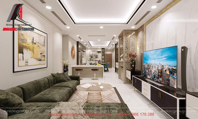 Thiết kế nội thất chung cư Thiên Niên Kỷ