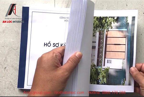 Những hạng mục trong bộ hồ sơ thiết kế nhà
