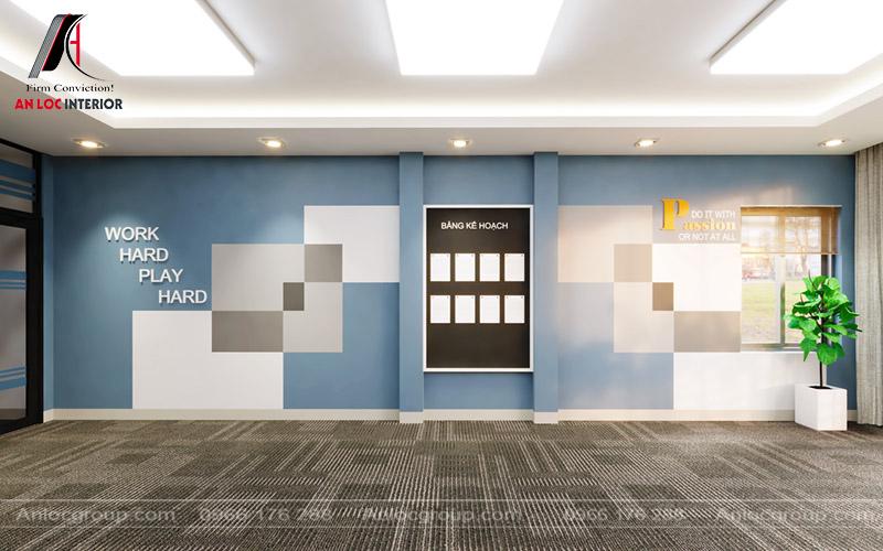 Khu vực họp của bộ phận kinh doanh trong các chiến dịch của công ty