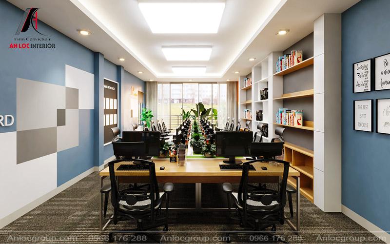 Thiết kế nhà ở kết hợp văn phòng cho thê