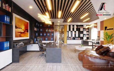Tầng 3 phòng giám đốc và thư ký