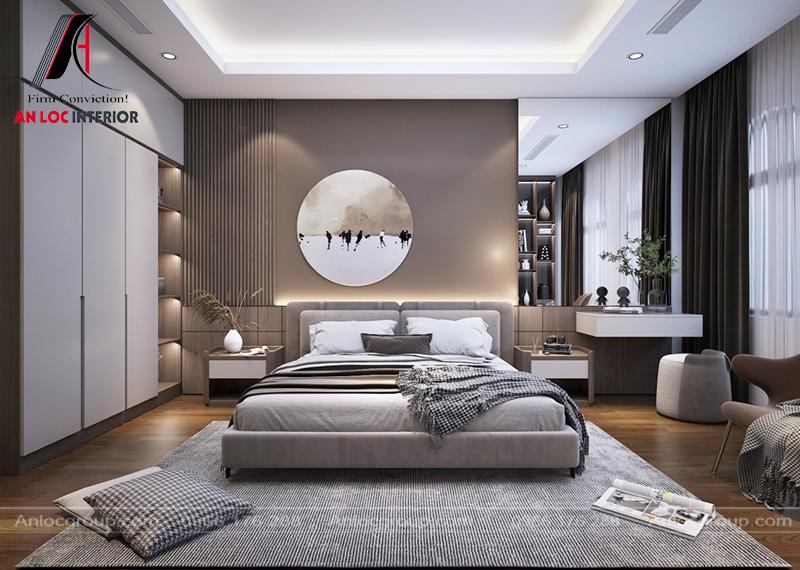 Phối hợp màu sắc và lựa chọn nội thất hài hòa với các phòng ngủ khác