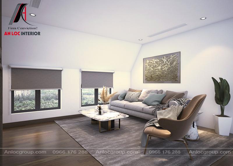 Phòng giải trí là sắp xếp sofa là địa chỉ lý tưởng để ngắm cảnh