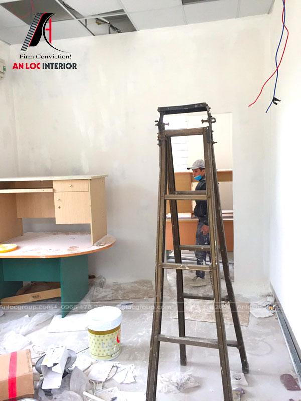 Thi công cải tạo nội thất trạm thu phí Hà Nội - Hòa Bình