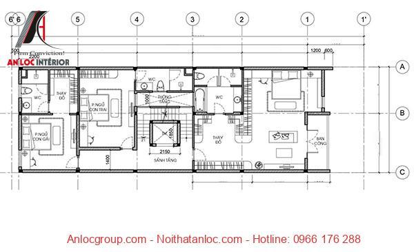 Gia chủ có thể tham khảo bản vẽ nhà 3 tầng chi tiết, cụ thể nhất