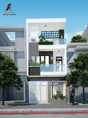 Thiết kế nhà 60m2 3 tầng có đa dạng về phong cách thiết kế