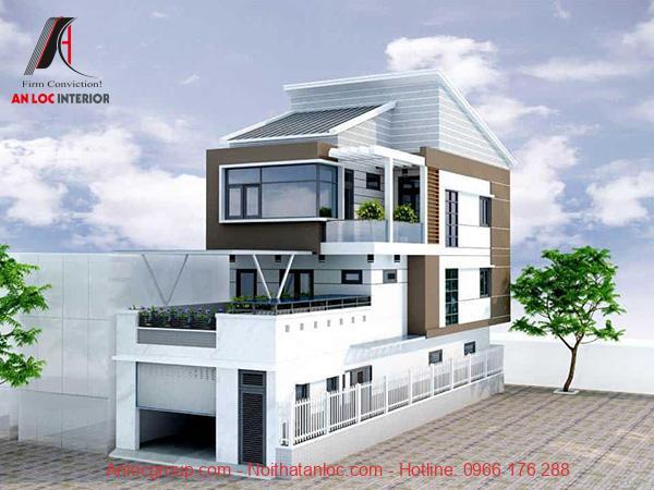 Thiết kế nhà có tầng hầm vừa để xe vừa là không gian tiếp nối trong sinh hoạt