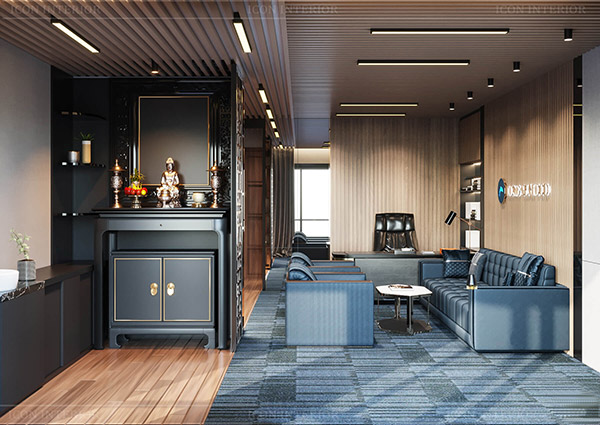 Thiết kế nhà ở kết hợp văn phòng cho thuê