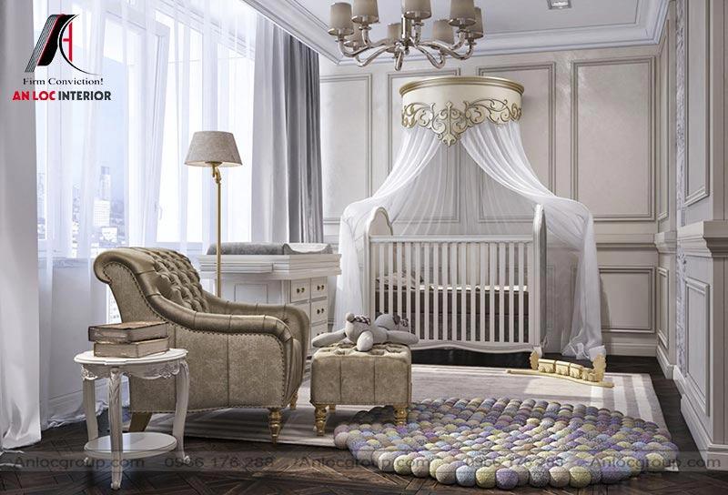Phòng ngủ trẻ em đơn giản, mới lạ
