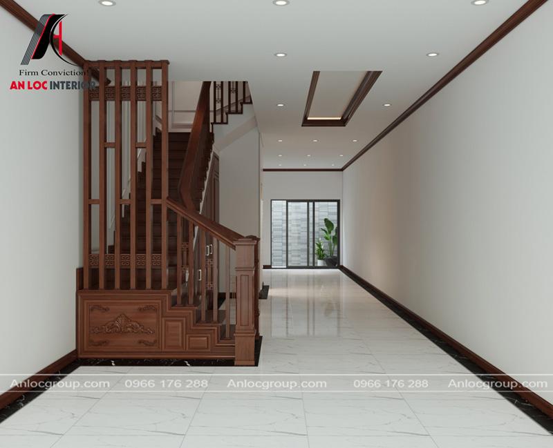 Kết cấu tủ gầm cầu thang đặc biệt mang đến không gian sang trọng